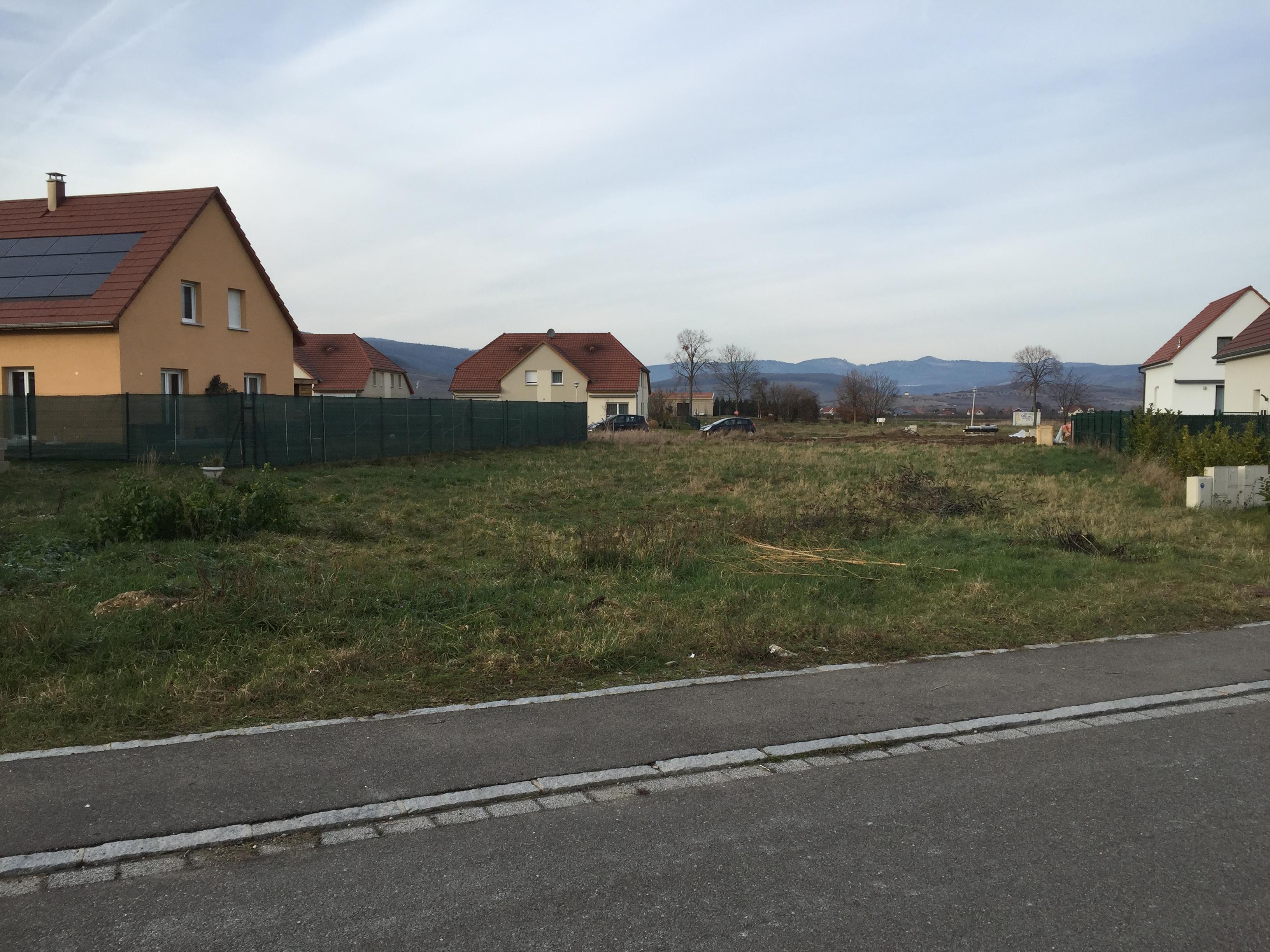 Terrain b tir issenheim les capucines fonci re for Achat terrain a construire